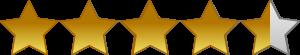 4.3 Star Rating for Vivere